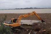 목포시, 집중호우로 발생된 해양쓰레기 처리에 연일 총력